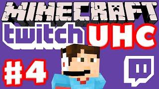 Minecraft Twitch UHC Part 4 (Ultra Hardcore Minecraft Live on Twitch with Facecam)