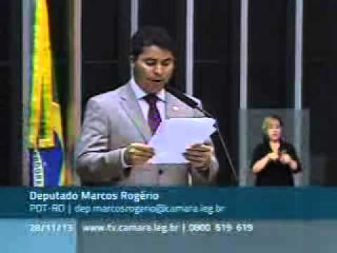 Marcos Rogério defende democracia mais forte e justa do ponto de vista social