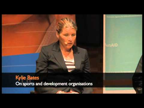 Kylie Bates on sports and development organisations