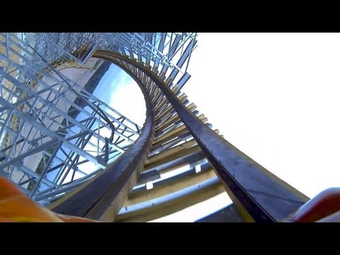 POV - Hades 360 POV! Hades has come back from hell in 2013 and The Gravity Group have added a looping element - a barrel roll! Along with an overbanked curve and a...