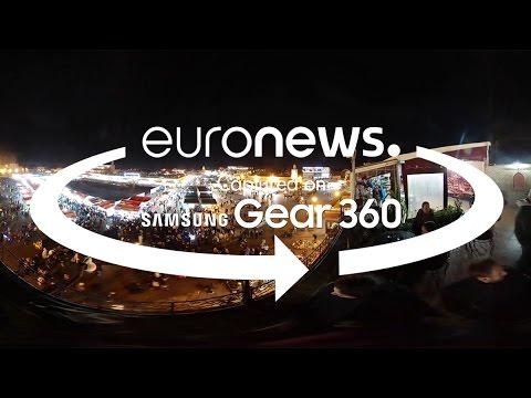 Μαρακές: Το Διεθνές Φεστιβάλ Κινηματογράφου σε βίντεο 360 °