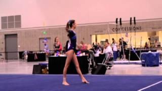 Christina Berg 2013 Competition Season Upgrades College Gymnastics Recruiting