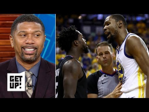 Kevin Durant is about to drop 35 points on Patrick Beverley in Game 3 - Jalen Rose | Get Up!
