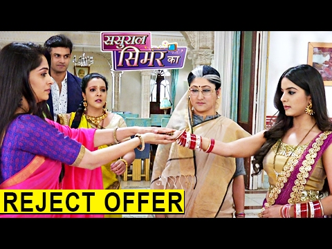Roshni REJECTS Simar's Offer In Sasural Simar Ka |