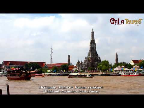 Anantara bateau croisière en Thaïlande (Anantara boat cruise - Galatourist)