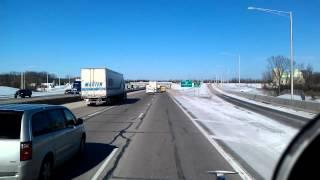 Oak Creek (WI) United States  city pictures gallery : Leaving Oak Creek, Wisconsin truckstop