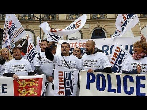 Γαλλία: «Οργισμένοι αστυνομικοί» στους δρόμους