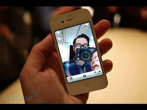 ChillaFrilla - My First Look video at Apple's latest handset, the iPhone 4! The iPhone 4 features a new 960 x 640 display, custom A4 processor, front facing camera, video c...