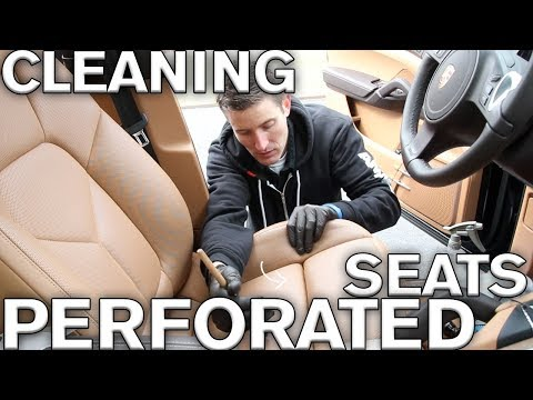 seats - This video is for a subscriber of my channel. He asked about cleaning perforated leather seats and how the approach might be different. Great Question! Be su...