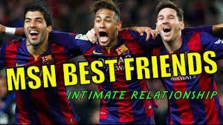 Messi Suarez Neymar (MSN) - Best Funny Moments 2016 msn barcelona,