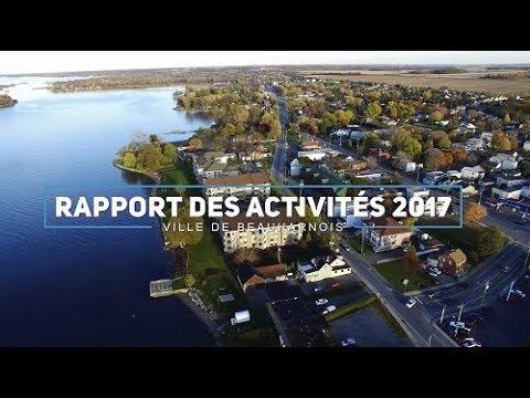 Rapport des activités 2017 - Ville de Beauharnois