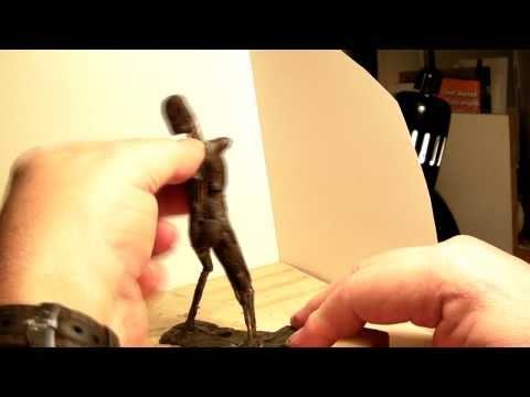 Nude Woman Figure Started in Wax
