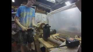 Time Lapse of Pine bowl