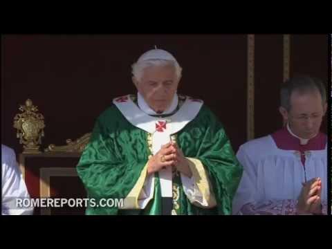 Paavst Benedictus XVI kuulutas Usu Aasta algust
