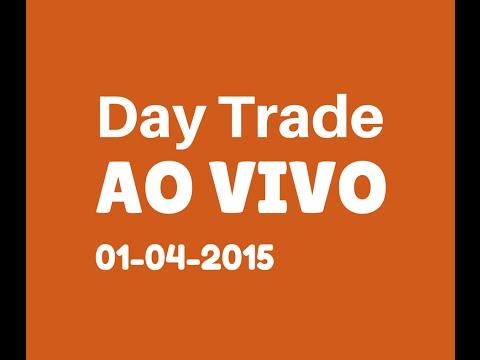 Operação Day Trade no Mini Indice ibovespa AO VIVO 01-04-15 (видео)