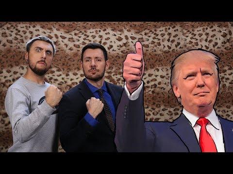 +100500 - Дональд Трамп в Переходе (видео)