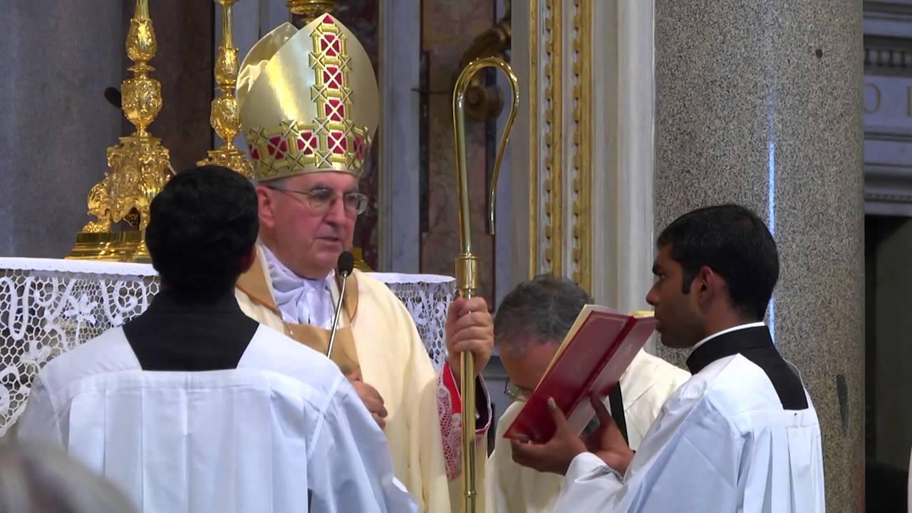 30 de Septiembre: Misas de acción de gracias en Roma