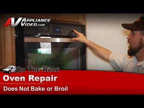 Whirlpool Wall Oven Repair – Does not bake or broil – WOD93EC0AE01