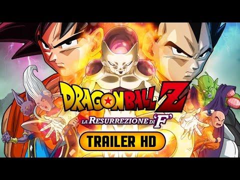 dragon ball z - la resurrezione di f (trailer italiano)