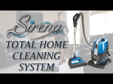Sirena Total Home Cleaning System - As seen on TV