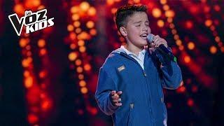 Juanse Laverde canta Cómo Mirarte  Audiciones a ciegas  La Voz Kids Colombia 2018