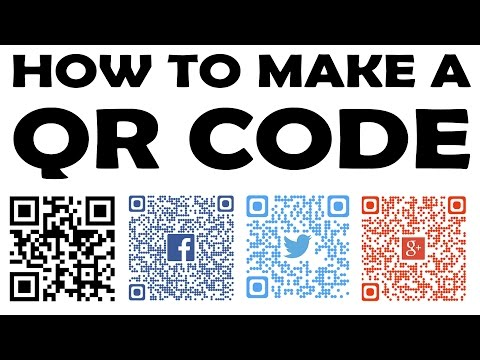 HOW TO CREATE A QR CODE - [ INSTRUCTIONS 101]