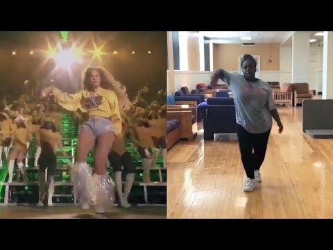 Fan Nails Beyonce's Coachella Dance Moves