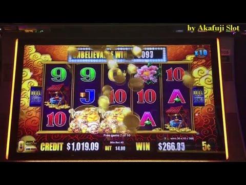 Super Big Win★San Manuel Part 1/4★Super Lucky Day!!GEMS, White Tiger, Five Frogs Slot Machine Casino