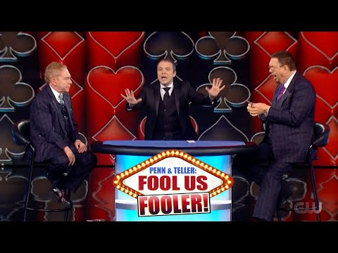 Penn & Teller Fool Us // Fooled by French Magician Boris Wild // Impossible Card Trick // Season 7