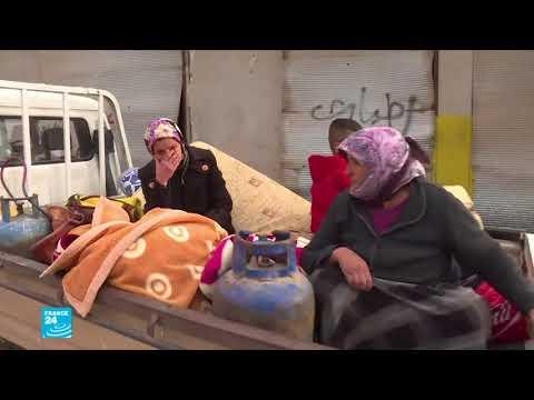 العرب اليوم - شاهد: استقرار الأوضاع في عفرين بعد دخول القوات التركية والفصائل الموالية لها