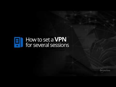 How to Set Up and Use a VPN with Remote Desktop Manager