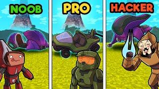 HALO WARS BATTLE ROYALE! (Noob vs Pro vs Hacker)