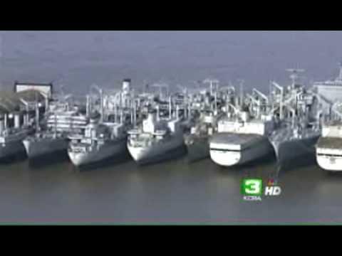 What Will Become Of Suisun Bay's 'Mothball Fleet'?
