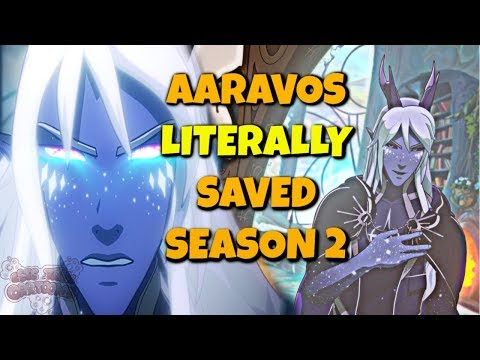 Honestly, Aaravos SAVED Season 2 of the Dragon Prince, Here's Why...