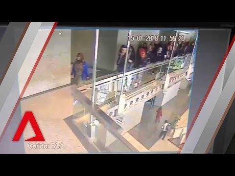 Η στιγμή της κατάρρευσης στο Χρηματιστήριο της Τζακάρτα