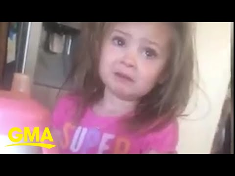 Girl is heartbroken when she realizes she can't marry her dad because he's taken l GMA Digital