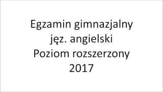 Film do artykułu: EGZAMIN GIMNAZJALNY 2018....