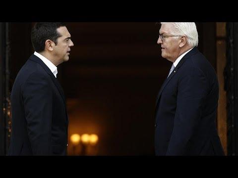 Συναντήσεις Σταϊνμάιερ με Παυλόπουλο και Τσίπρα
