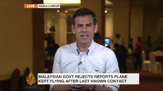 Search for missing Malaysia plane still turns up empty