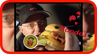 """Nandos have released this new menu item, the  Loaded Classic Burger that looks quite delish! Check it out in this review.Please Share :)#tastetest #foodieNEW VIDEOS EACH WEEKSend Me Stuff To Test!CHECKOUT THE FOODIE PLAYLISTS:*McDonalds*https://www.youtube.com/playlist?list=PLxEcELMekIpsoVC-YetHuUhOUGJ93wCna*KFC*https://www.youtube.com/playlist?list=PLxEcELMekIpu4KvJh69z76KLxNtHLtrHP*Subway, Nando's, Pizza Hut, Domino's, Krispy Kreme etc*https://www.youtube.com/playlist?list=PL1D51F1A60B60C47B*Hungry Jacks / Burger King*https://www.youtube.com/playlist?list=PLxEcELMekIpth-xtoD0HPRjjyfrv_b7BA*McDonald's Vs KFC Vs Hungry Jacks Vs ???*https://www.youtube.com/playlist?list=PLxEcELMekIpu5gbZZY19dXprd-QBHH2UF*Cadbury, Vegemite, Arnott's*https://www.youtube.com/playlist?list=PLxEcELMekIpvjIHm8dPhURTL1EgWBmVXi*Pub Meals*https://www.youtube.com/playlist?list=PLxEcELMekIptpuU_iUA6k1ojYkZExzHSd*Food Fun & Challenges*https://www.youtube.com/playlist?list=PLxEcELMekIpsbhbCX4Sq7GovKCZmAYebqGOJOMEDIA LINKSGoJo MediaPO Box 411Cockatoo 3781AustraliaSNAPCHAT: gojogeoffINSTAGRAM: http://instagram.com/gojomediaFACEBOOK: https://www.facebook.com/GoJoMediaVINE: https://vine.co/GoJo.GeoffTWITTER: https://twitter.com/GoJoMediaGOOGLE+: https://plus.google.com/u/0/+GoJoMediaGeoffMERCH: http://gojomedia.spreadshirt.com/ZOMATO: zomato.com/gojogeoffMORE GOJOMEDIA CHANNELS*Main Channel*https://www.youtube.com/user/GeoffJennyOliver*Vlogs* https://www.youtube.com/channel/UC3TH5l0Q9Lky1RnR9xMkIXg*Kids*https://www.youtube.com/channel/UCLSB7Ge8_sb_oEEUZy-55LwMUSICYou Tube audio library: Bonanza (Sting)Apple Loops:http://images.apple.com/legal/sla/docs/ilife09.pdf""""You may use the Apple and third party audio content (""""Audio Content"""") contained in or otherwise included with the Apple software, on a royalty-free basis, to create your own original soundtracks for your video and audio projects. You may broadcast and/or distribute your own soundtracks that were created using the Audio Content, however, indi"""