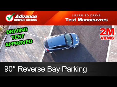 90° Reverse Bay Parking Manoeuvre  |  2020 UK Driving Test