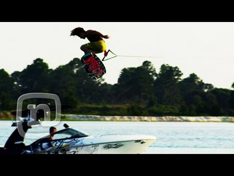 Wakeboard - Pro wakeboarder Danny Harf wanted to do something extra special with the Fox wakeboard team for the DEFY movie. Combining helicopters, RED cameras, and cryst...