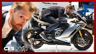 Damon's Hypersport HS electric superbike blew our minds with 200mph speed and crazy tech by Roadshow