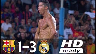 Video Barcelona vs Real Madrid 1-3 All Goals & Highlights (Spanish Super Cup 2017) MP3, 3GP, MP4, WEBM, AVI, FLV Mei 2018