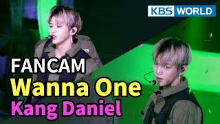 [FOCUSED] Wanna One's Kang Daniel - Boomerang [Music Bank / 2018.04.06]