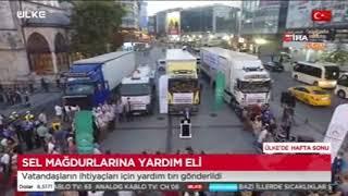 Gaziosmanpaşa'Dan Sel Bölgelerine Yardım Eli! - Ülke Tv