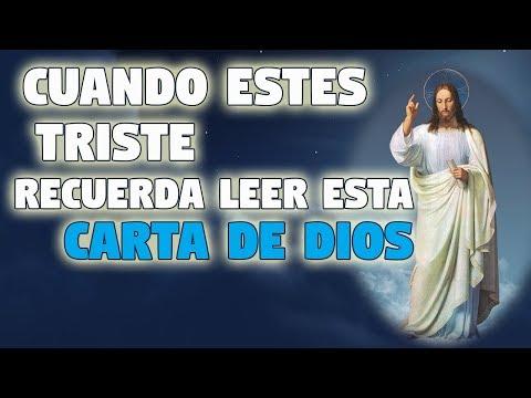 Palabras de amor - CUANDO ESTES TRISTE RECUERDA LEER ESTA CARTA DE DIOS