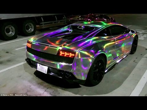 5 pazzesche ed affascinanti verniciature per automobili!