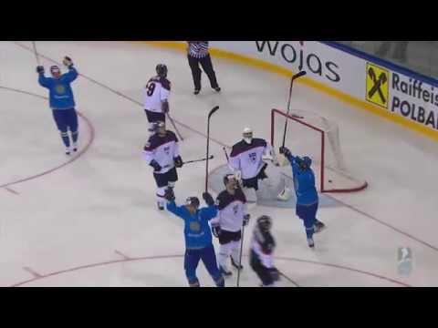 Видео лучших моментов матча Казахстан - Япония на ЧМ по хоккею