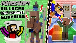 4. VILLAGER HOME MAKEOVER SURPRISE! Minecraft Furniture Mod Fun w/ FGTEEV Duddy & Chase (Showcase)